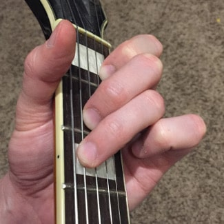 C Major Chord Picture