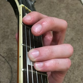 F5 Chord 1st Fret Picture