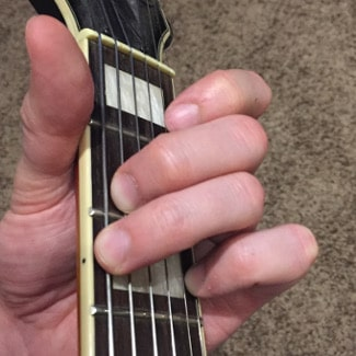 G Major Chord Picture