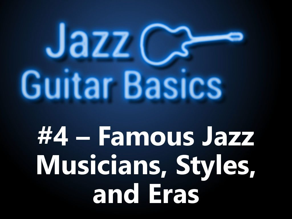 Jazz Guitar Basics 4