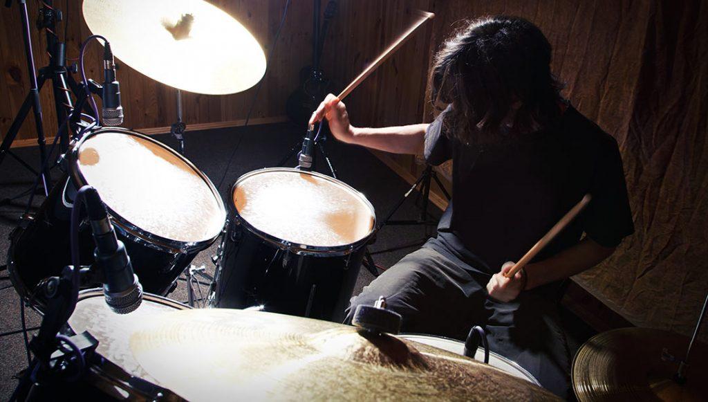 drummer in room