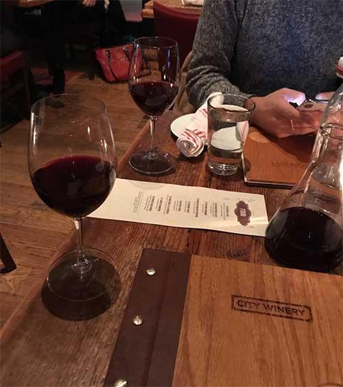 city winery nyc drinks